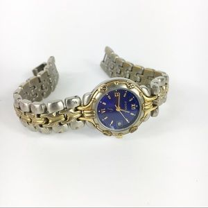 Fossil F2 ES-8954 Water Resistant Gold Silver